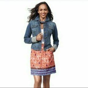 Cabi Bella Skirt tribal print #784 with pockets